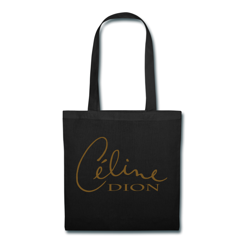 Picture of Tote w/gold glitter